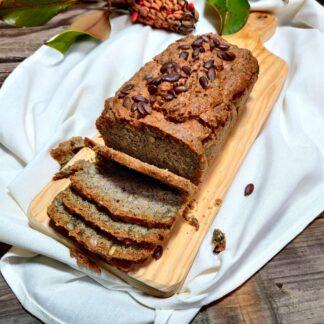Pan de trigo sarraceno y semillas